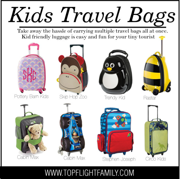 8 Adorable Kids Travel Bags for Your Little Traveler