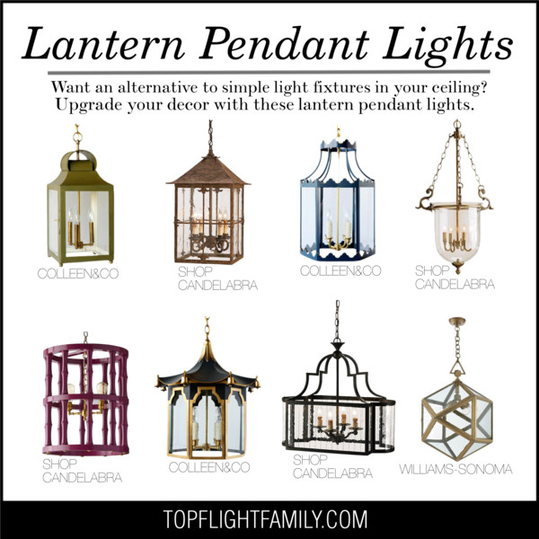 Currey And Company Godfrey: Lantern Pendant Lights That Add A Touch Of Glam