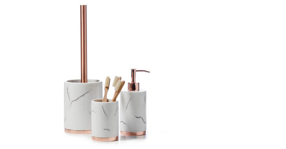 Marble and Rose Gold Items You Need for Your Home