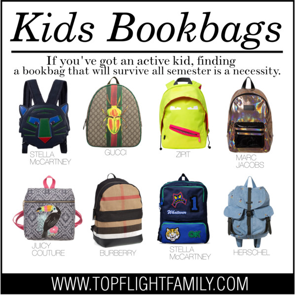 Designer Backpacks for Kids: 8 Adorable Ones for Your Little ...