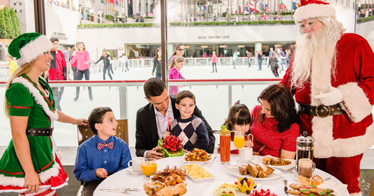 Breakfast With Santa Nyc The Best Santa Dining Options In New York