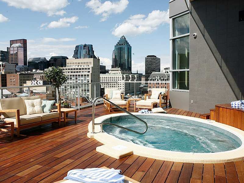 hotel le crystal montreal