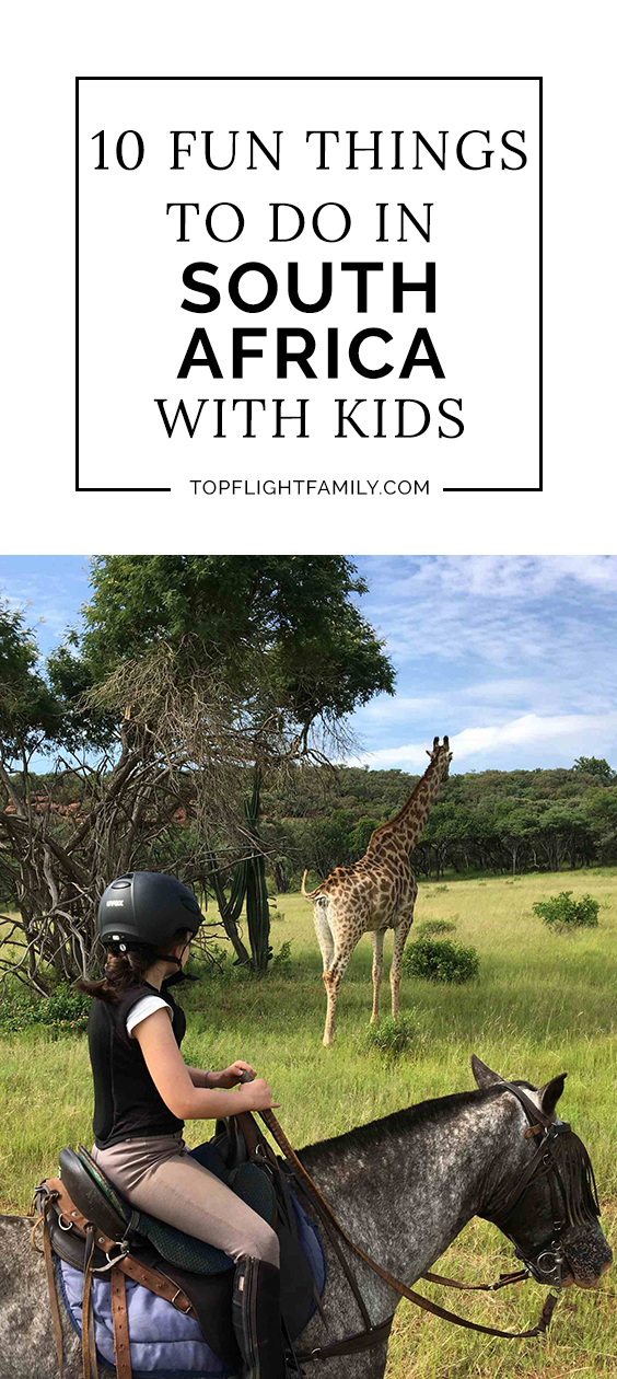 travel to south africa for kids