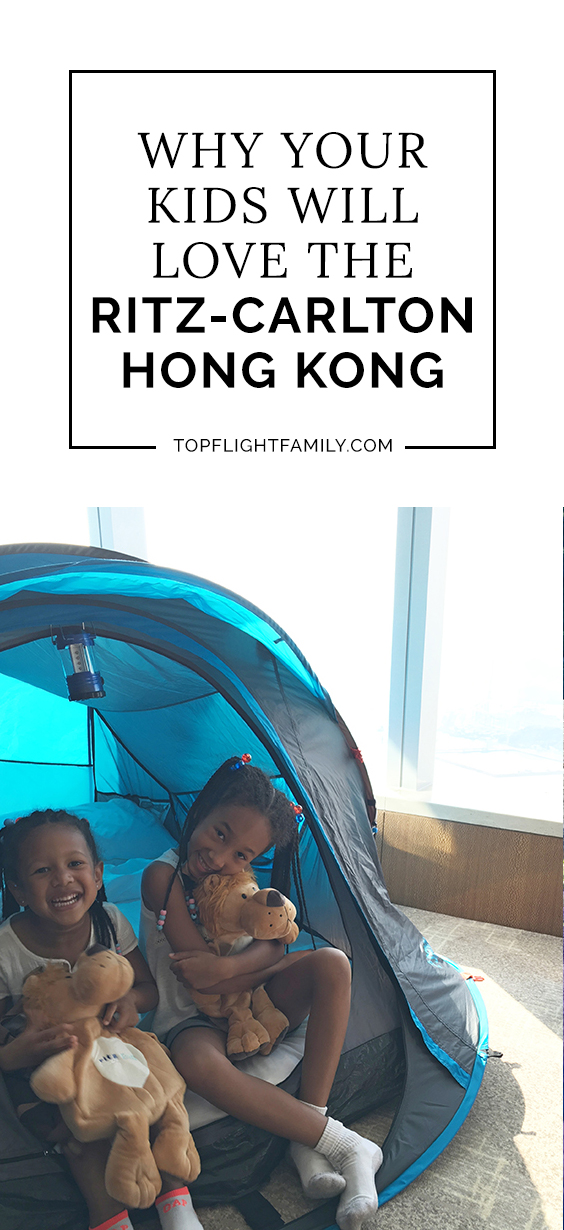 If you're traveling to Hong Kongwith kids, staying atThe Ritz-Carlton Hong Kong is a can't-miss experience for those seeking family-friendly luxury.