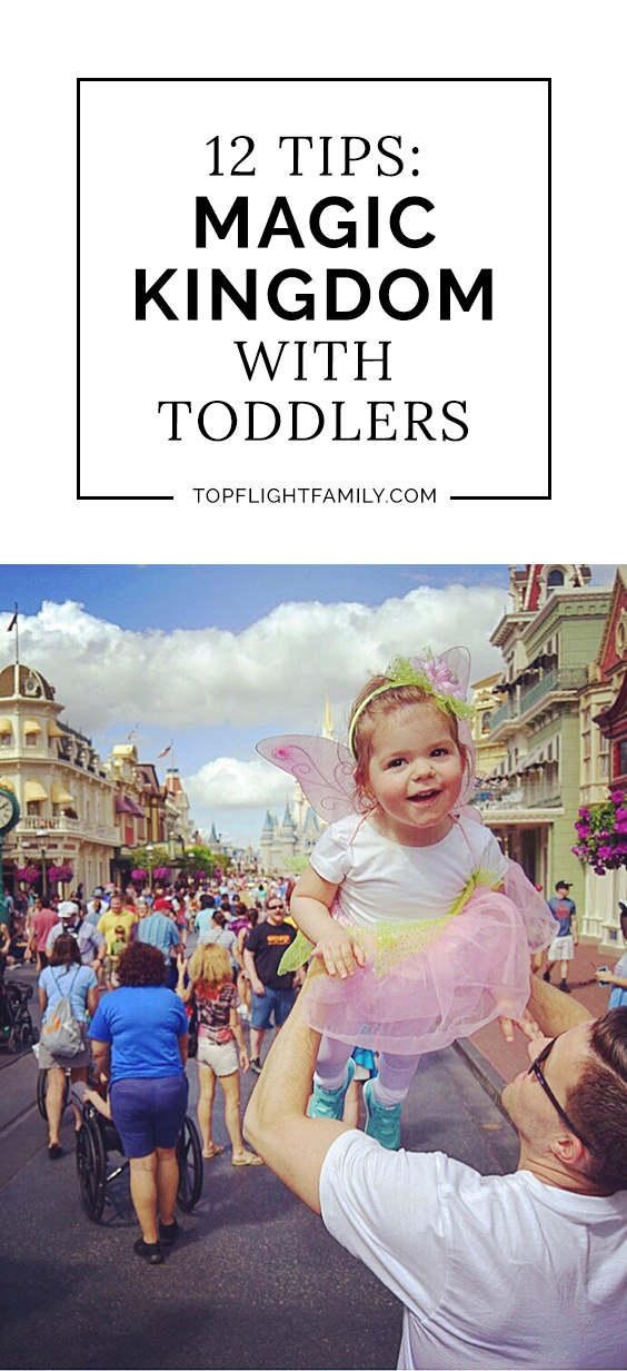 Looking for the best rides at Magic Kingdom for toddlers? We've got you covered, plus 12 tips on making the most out of your Disney toddler vacation.