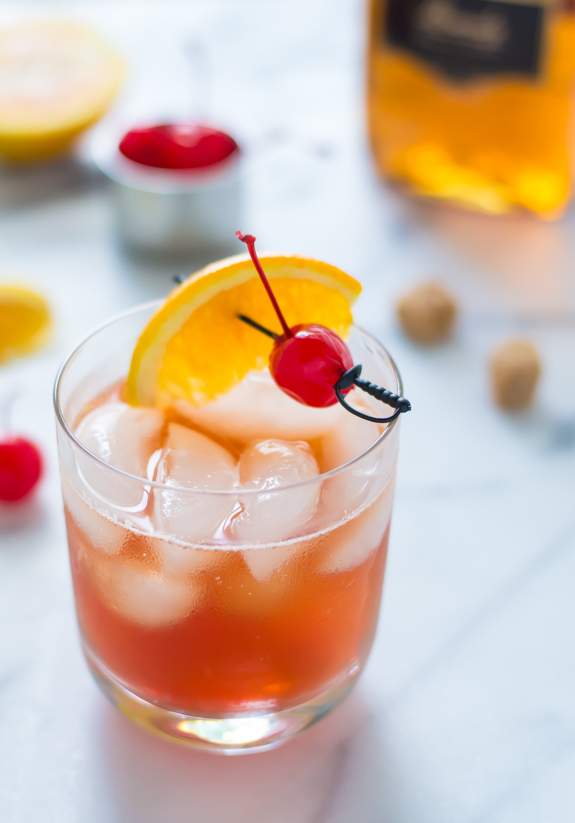 Recipes for Brandy Drinks - Brandy Old Fashioned