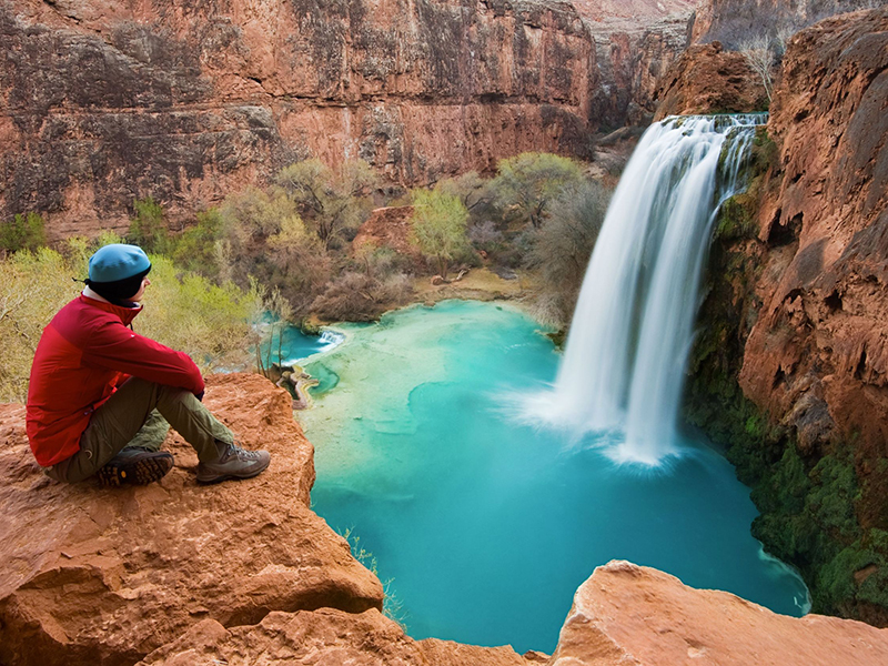 Havasu Falls in Arizona. Photo: Varina And Jay Patel