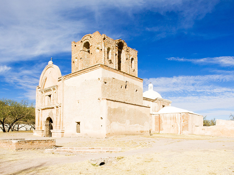 San Jose de Tumacacori Church at Tumacacori National Historic Park. Photo: Richard Semik
