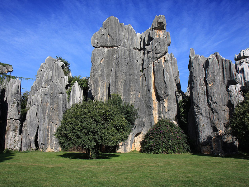 Shilin Stone Forest National Park in Yunnan China. Photo: Tan Wei Ming