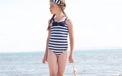 nautical kids swimwear