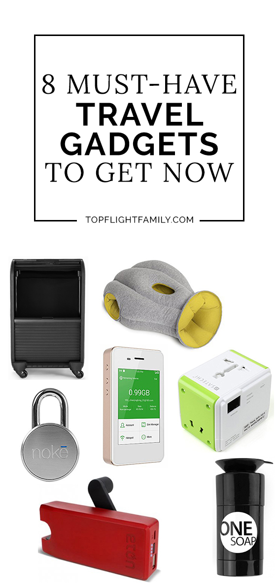 If you're anything like us, you love owning the latest must have travel accessories. Here are 8 innovative products to upgrade your travel experience.