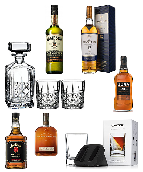 Whiskey Gifts for Dad - Pin Pic - Top Flight Family