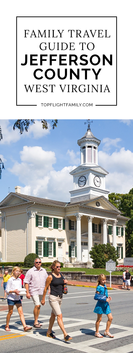 Jefferson County West Virginia is a fantastic destination for families, whether you enjoy art and history, or thrilling outdoor sports.