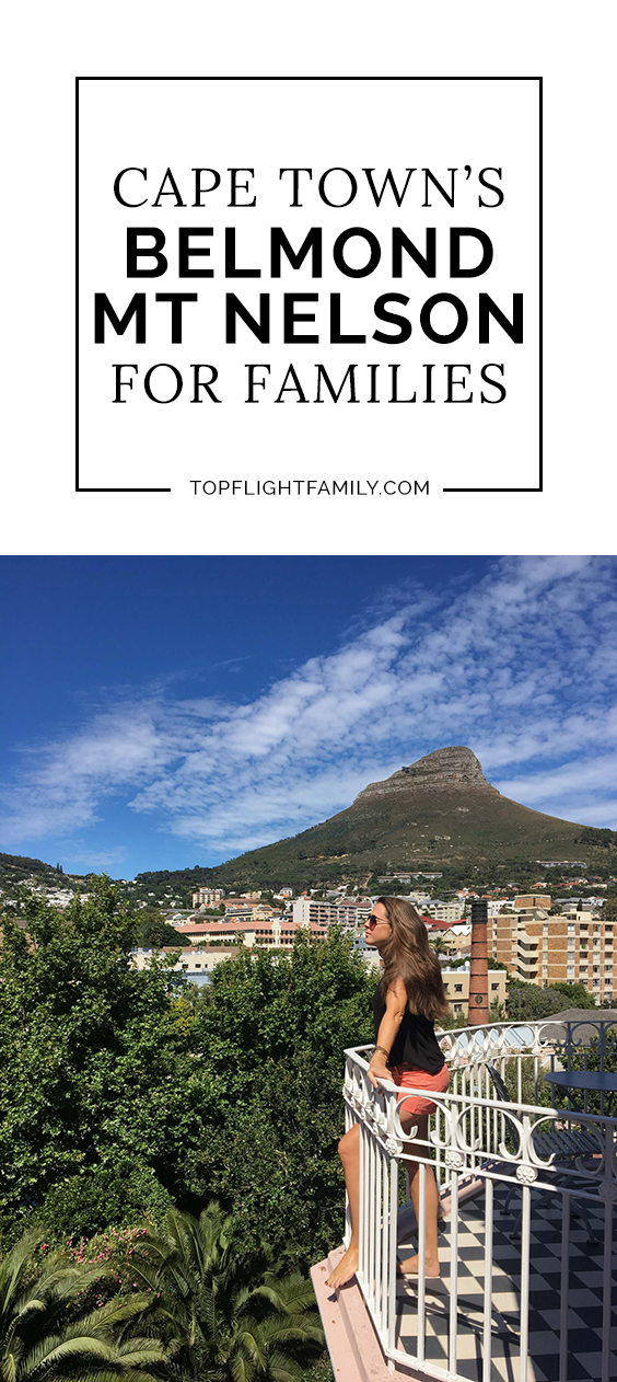 Set in the heart of Cape Town's vibrant center, the Belmond Mount Nelson Hotel is one of the city's most iconic hotels. Here's why it's great for families.