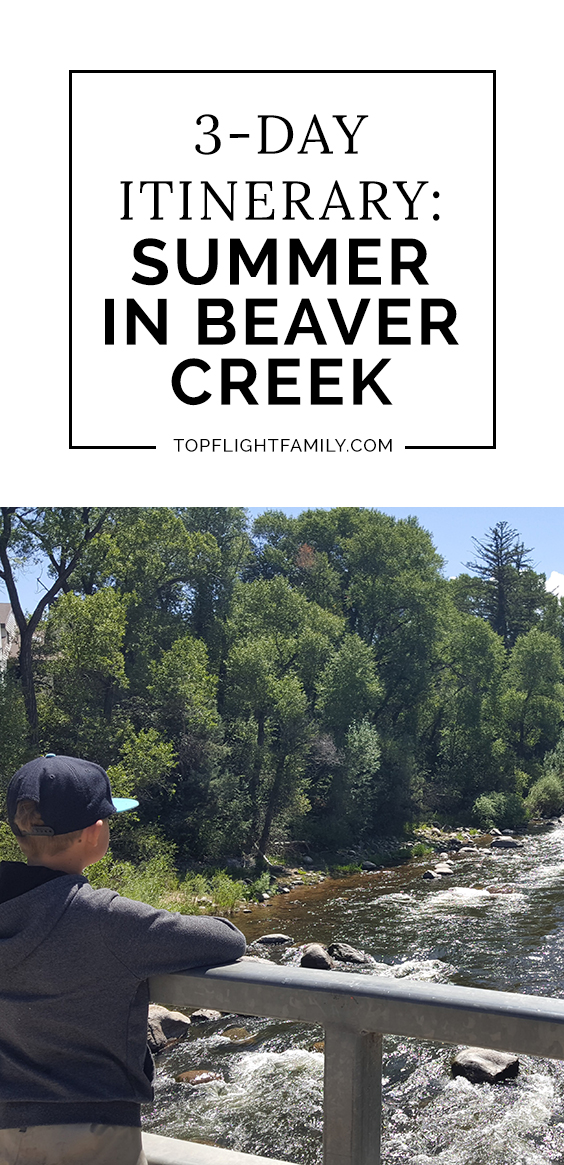 Summer in Beaver Creek? If you're looking for a quintessential summer mountain experience in a luxury setting, this is the perfect destination.
