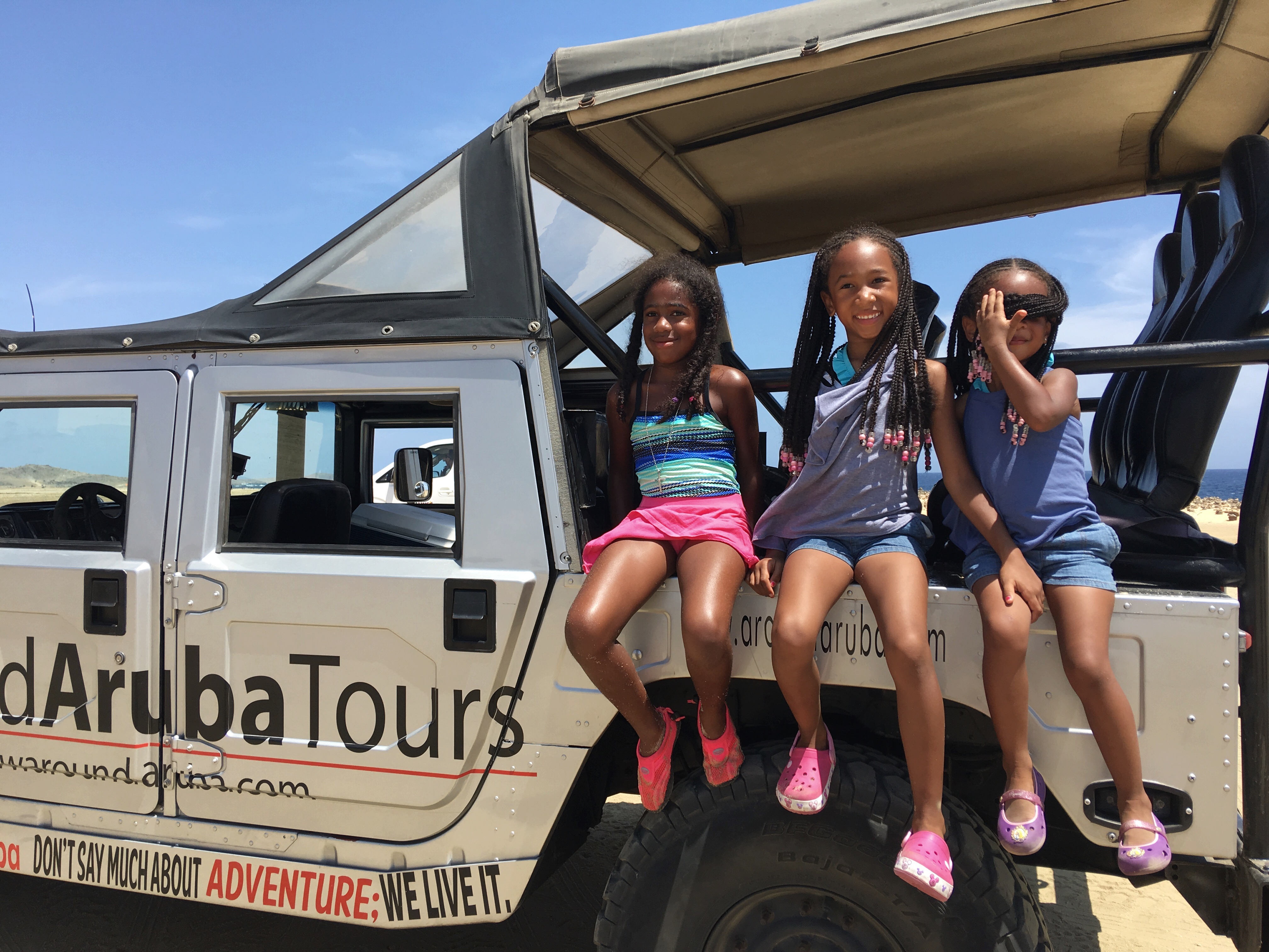 hummer tour in aruba
