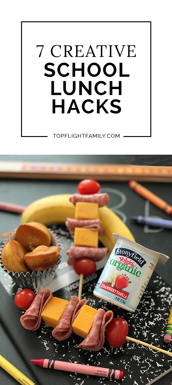 Between picky eaters and busy lives, packing lunches can be hard. Check out these school lunch hacks to make your busy weekdays and nights a little easier.