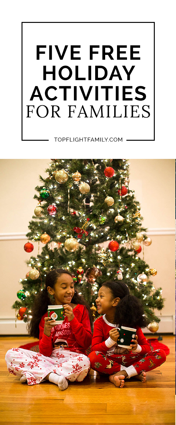 Some of our family's favorite holiday activities don't cost a thing! Here are 5 fun and free Christmas activities for children that adults will love too.