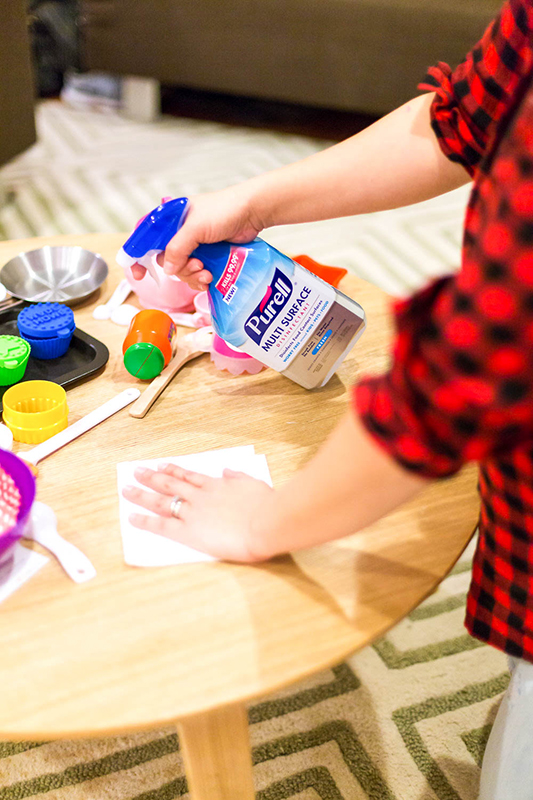 how to disinfect toys