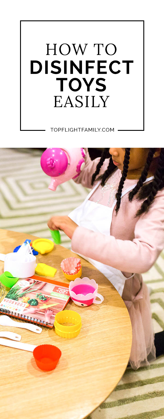 #AD One of the best ways to stop germs is to learn how to disinfect toys properly. Here are 5 tips to do it right. #PURELLSurface #IC #DisinfectWorryFree