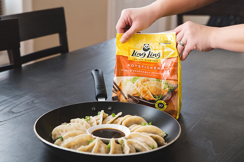what to serve with potstickers
