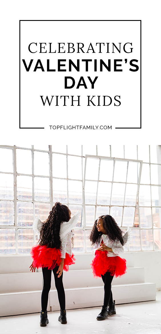Valentine's Day is the perfect time to celebrate all kinds of love, not just romantic love. Here are 5 fun ways to celebrate Valentine's Day with your kids.