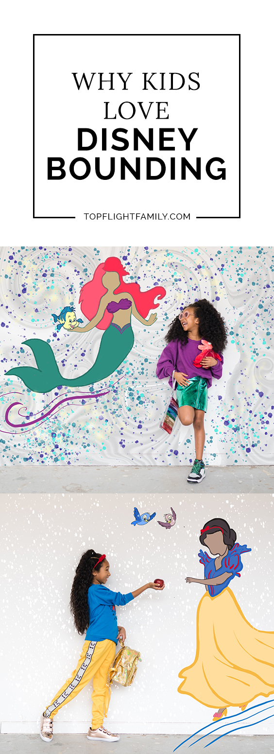 Ever used a Disney character for fashion inspo? Disney bounding a fun trend your kids will love! Here's are some Disney bounding outfits to inspire you.