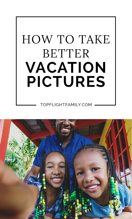 Do your family vacation pictures capture the experience you had, or is something not quite right about them? Take better family vacation pictures with these five tips.