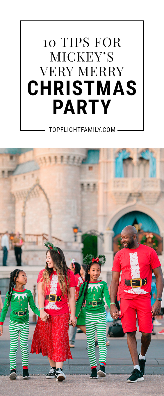 Have you been to Mickey's Very Merry Christmas Party? The key to having a great time lies in the details. Here are 10 tips to make the most of your time.