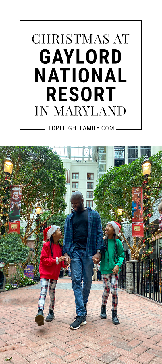 From ice sculptures to reindeer tubing, your family is sure to love the holiday fun at Gaylord National Resort in Maryland.