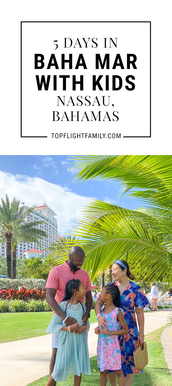 The iconic Baha Mar is a fun resort for families, with lots of different pools and restaurants, and no shortage of hands-on activities that allow visitors to learn about local marine and wildlife.