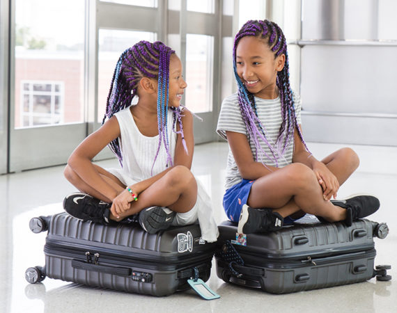 pack a carry on with kids