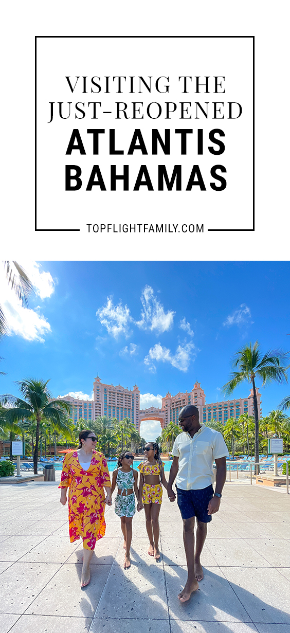Atlantis, Paradise Island in the Bahamas has been closed due to the pandemic up until recently. What's it like to visit there now that it's reopened?