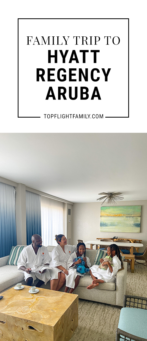 Are you looking for a casual, fun beach resort in Aruba that's especially welcoming for families? Then you have to check out Hyatt Regency Aruba